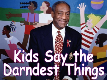 Bill Cosby hosts KIDS SAY THE DARNDEST THINGS. Photo cr: Monty Brinton/CBS