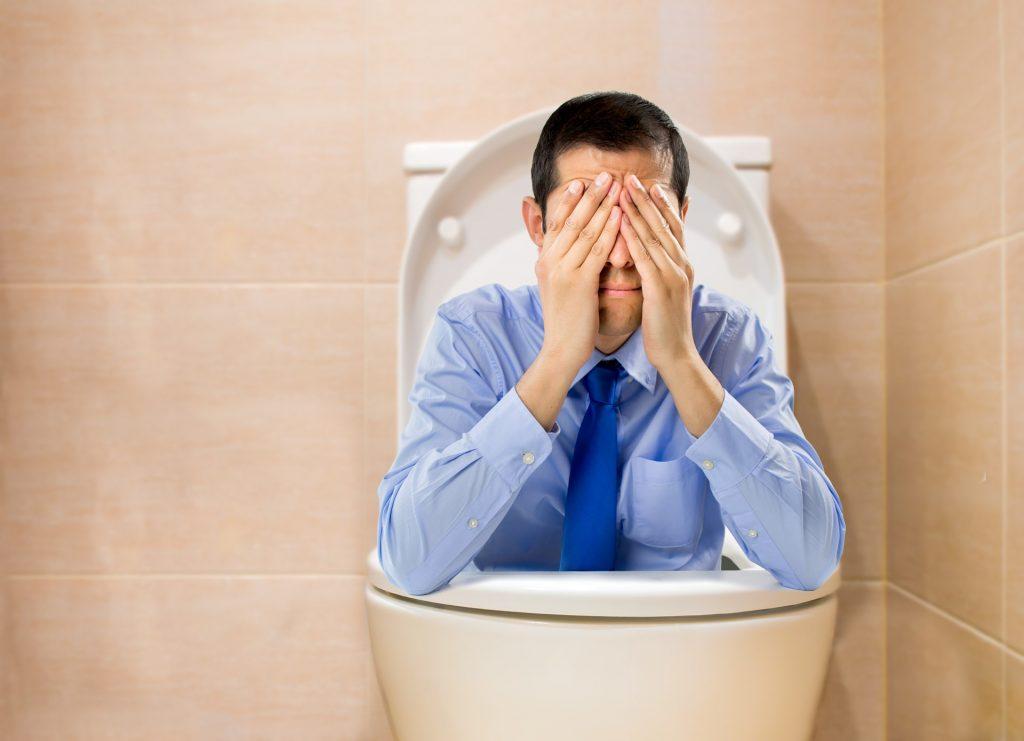 toilet cry