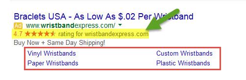 Ad Extension Sitelinks123