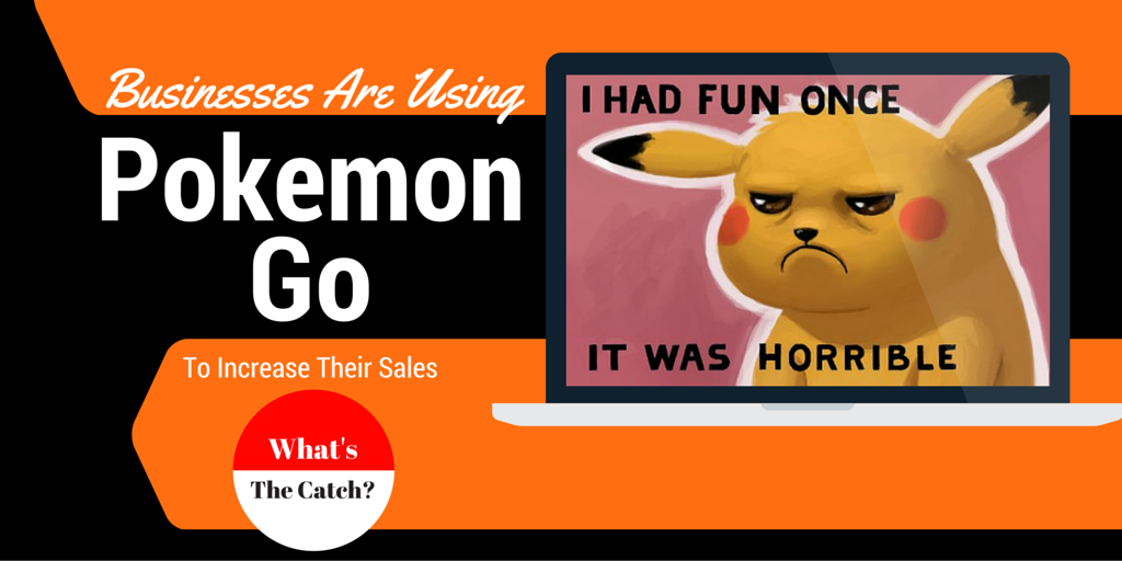 Businesses are using Pokemon Go To Increase their Sales